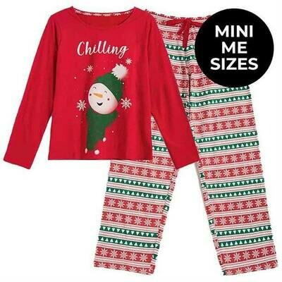 Ladies' Christmas Family PJs