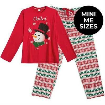 Men's Christmas Family PJs