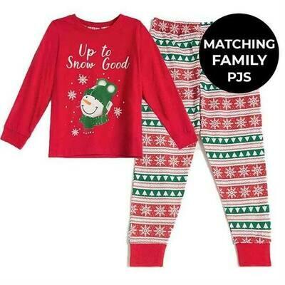 Kids' Christmas Family PJs