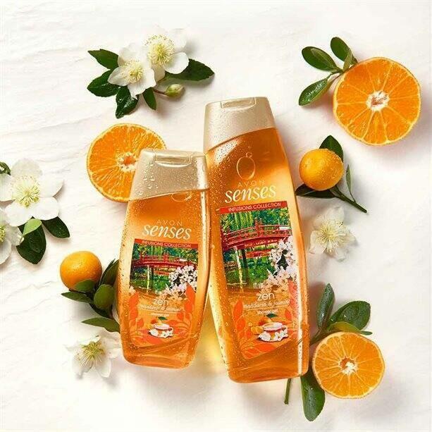 Mandarin & Jasmine Shower Gel - 500ml