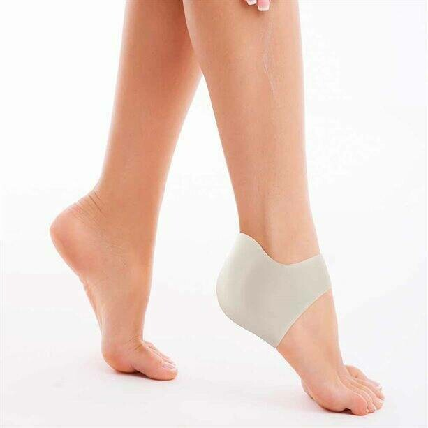 Silicone Heel Enhancer Socks