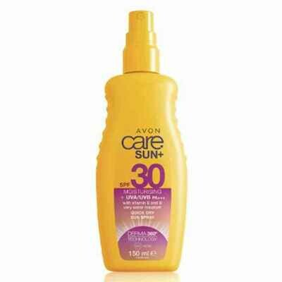 Moisturising Sun Cream Spray SPF30 - 150ml
