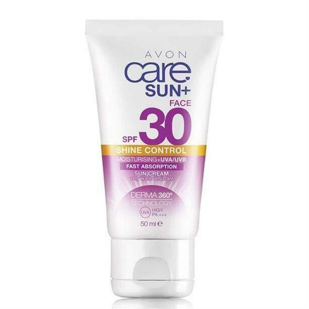 Face & Body Shine Control Sun Cream SPF30