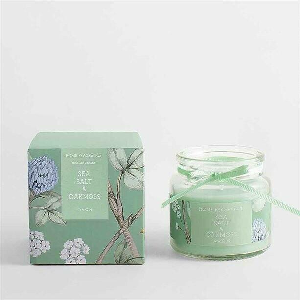 Sea Salt & Oak Moss Glass Jar Candle - 80g