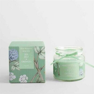 Sea Salt & Oak Moss Glass Jar Candle - 80g