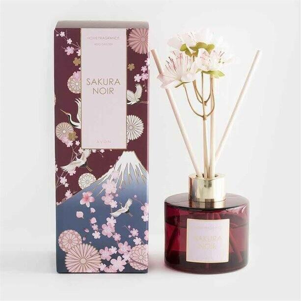 Sakura Noir Reed Diffuser - 80ml