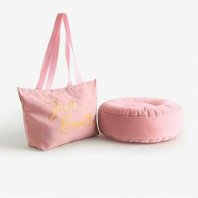 Exercise Cushion & Tote Bag Duo