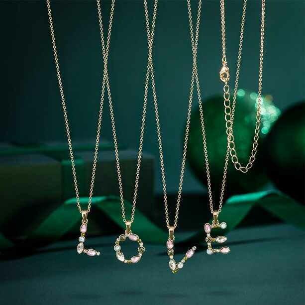 Josette Initial Necklace