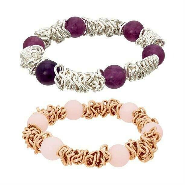 Mareena Multilink Semi-Precious Bracelet