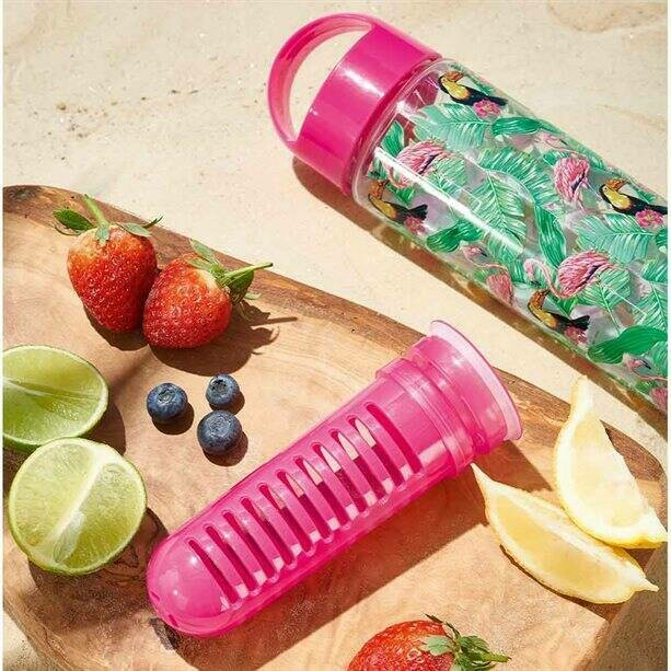Tropical Infuser Water Bottle