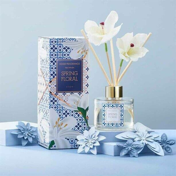 Spring Floral Reed Diffuser - 80ml