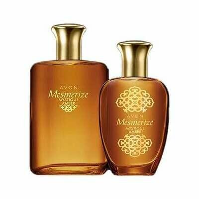 Mesmerize Mystique Amber for Him & Her Fragrance Set