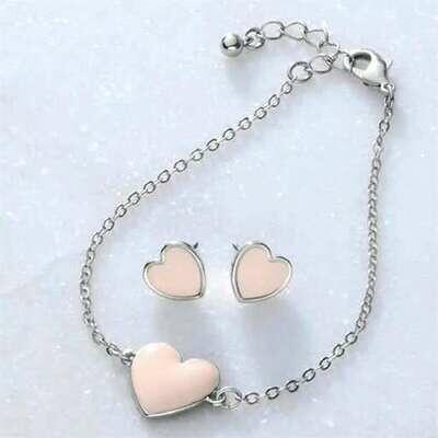 Camille Heart Bracelet