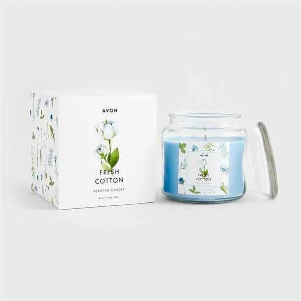 Fresh Cotton Large Candle - 370g