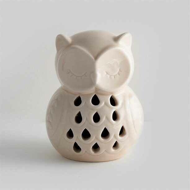 Ola Owl LED Tealight Holder