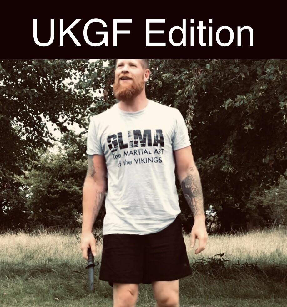 The Original Glima Tee UKGF Edition