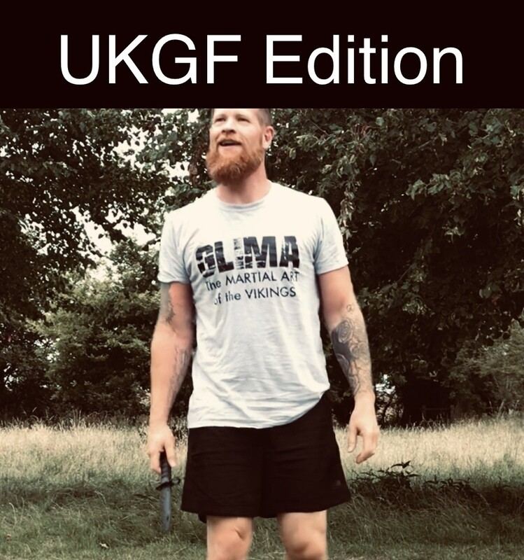 The Original Glima Tee UKGF Edition