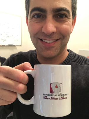 Our Silent Bleed mug (with Dr Levy)