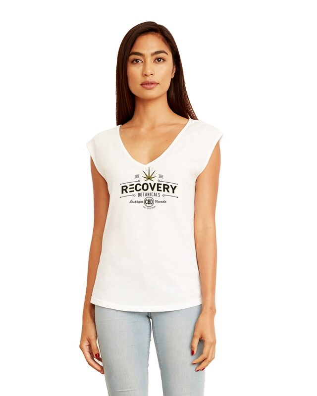 Ladies' Festival Sleeveless V Shirt - Recovery Botanicals