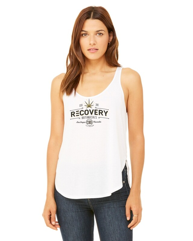 Bella + Canvass Ladies' Flowy Side Slit Tank - Recovery Botanicals
