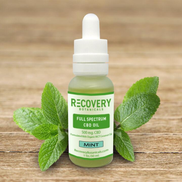 Recovery Full Spectrum CBD Tincture - <.3% THC
