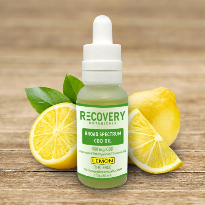 Recovery Broad Spectrum CBD Tincture - No THC