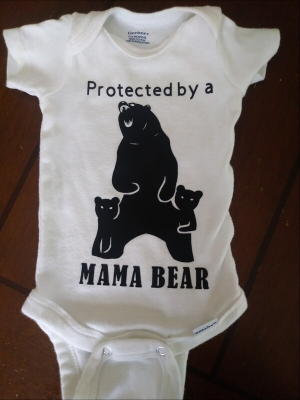 Protected by a Mama Bear (Kid's Shirt)