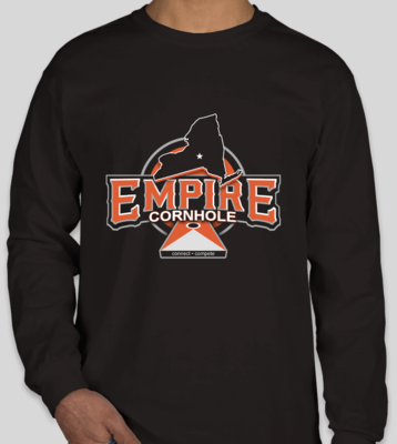 Black Long Sleeve Logo Shirt