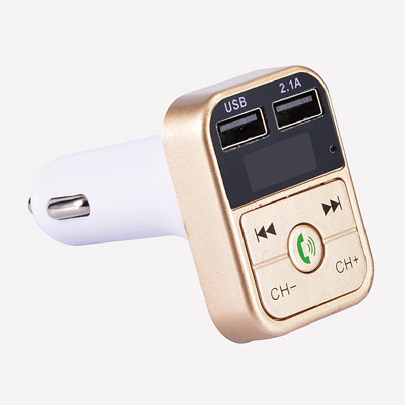 Wireless Bluetooth FM Transmitter Car Kit Handsfree LCD MP3 Player with USB Charge
