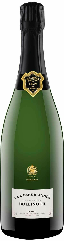 Champagne Bollinger La Grande Année Brut Millésimé
