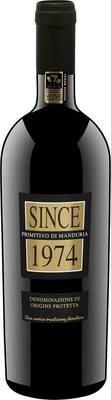 Since 1974 Primitivo di Manduria DOP