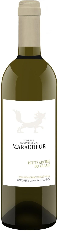 Petite Arvine Valais AOC les grands vins du Maraudeur