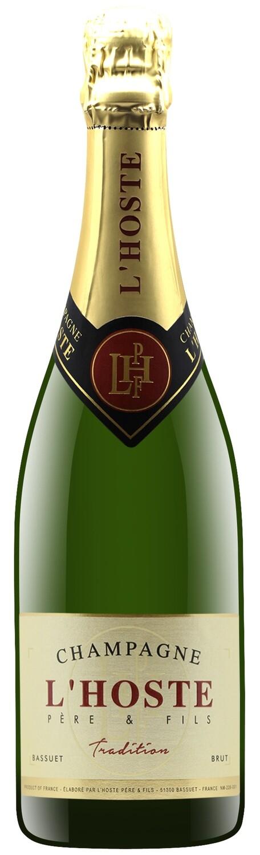 Champagne Brut AC l'Hoste