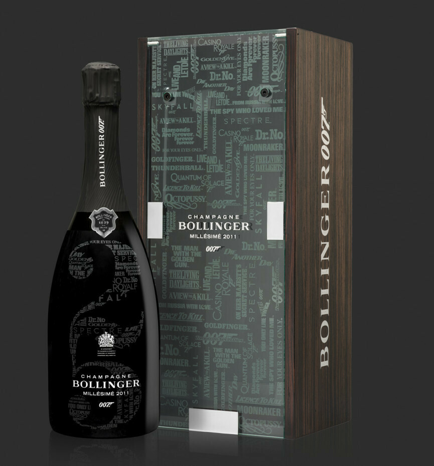 Champagne Bollinger Millesime AC Limited Edition 007