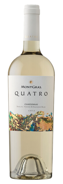 Quatro White Blend of Colchagua Valley