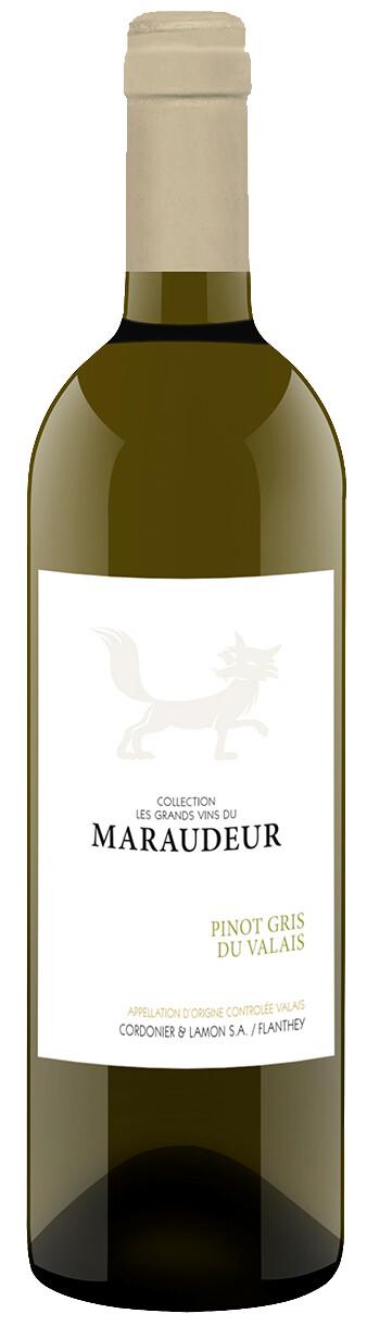 Pinot Gris Valais AOC les grands vins du Maraudeur