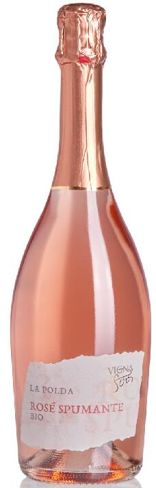 """Spumante Rosé Brut Bio """"la Polda"""""""