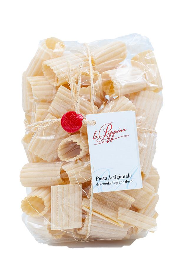 Pasta Paccheri Ondulati aus Hartweizengriess