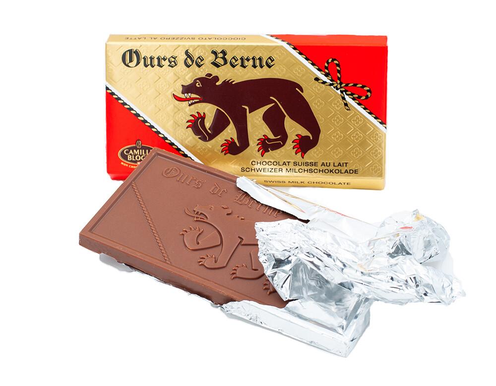 Milchschokolade Ours de Berne