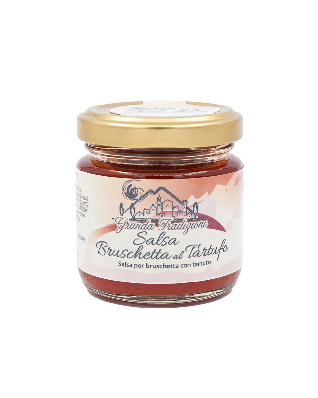 Salsa Bruschetta Langhetta con tartufo bianco