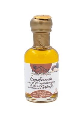 Condimento di Olio Extravergine aromatizzato al Tartufo