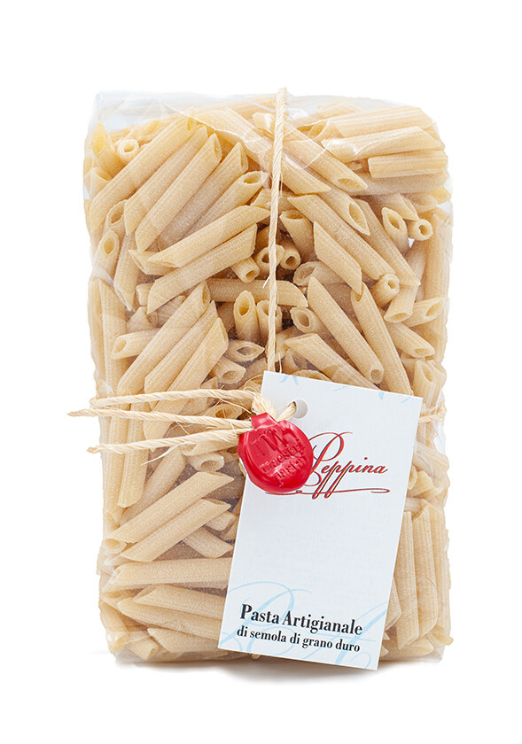Pasta Pennette Rigate aus Hartweizengriess