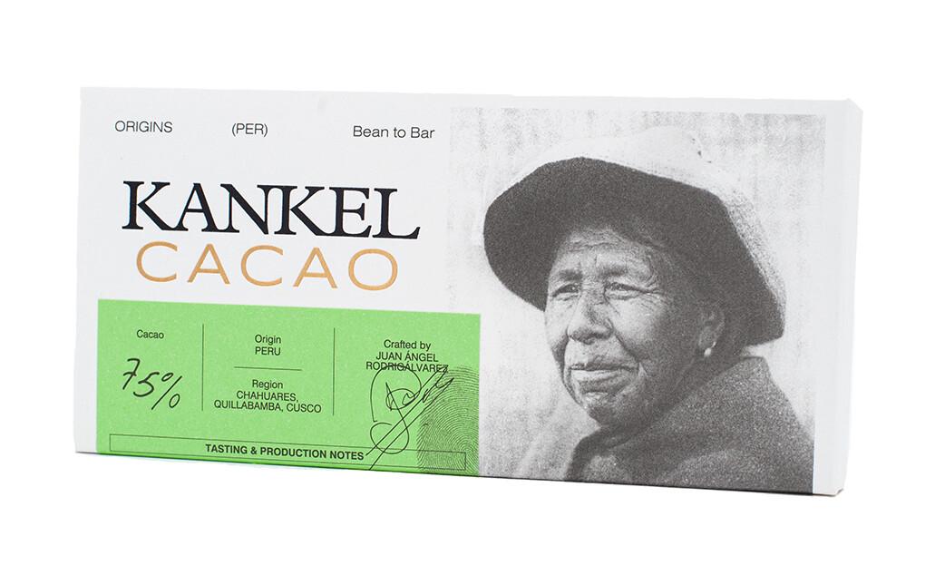 Edelschokolade Kankel Cacao 75% Peru Bean-to-Bar
