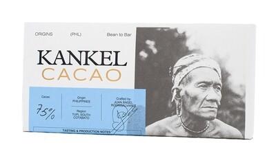 Edelschokolade Kankel Cacao 75% Philippines Bean-to-Bar