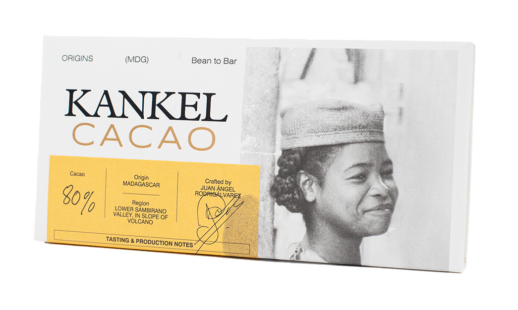 Edelschokolade Kankel Cacao 80% Madagascar Bean-to-Bar