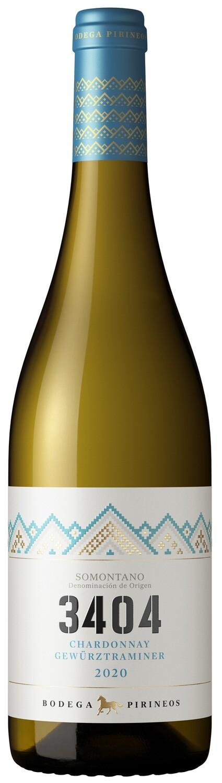 3404 Blanco Chardonnay, Gewürztraminer Somontano DO