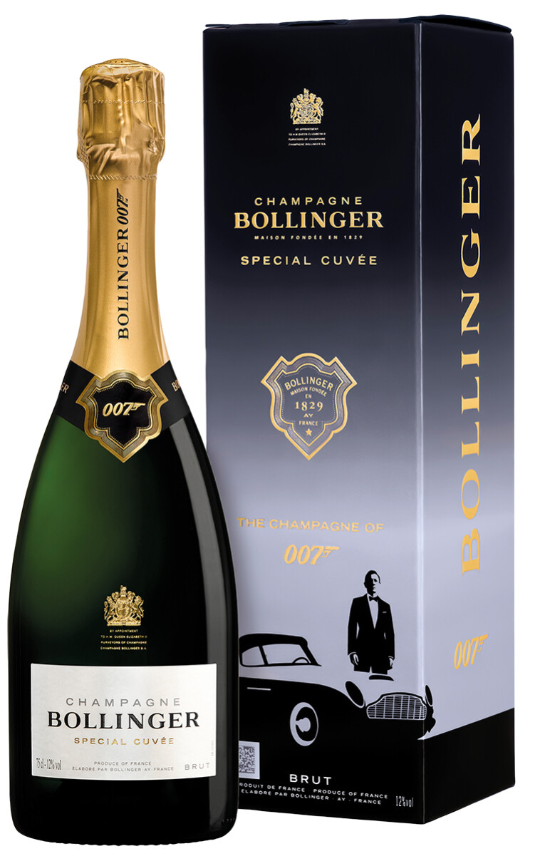 Special Cuvée 007 Limited Edition Champagne Brut AC