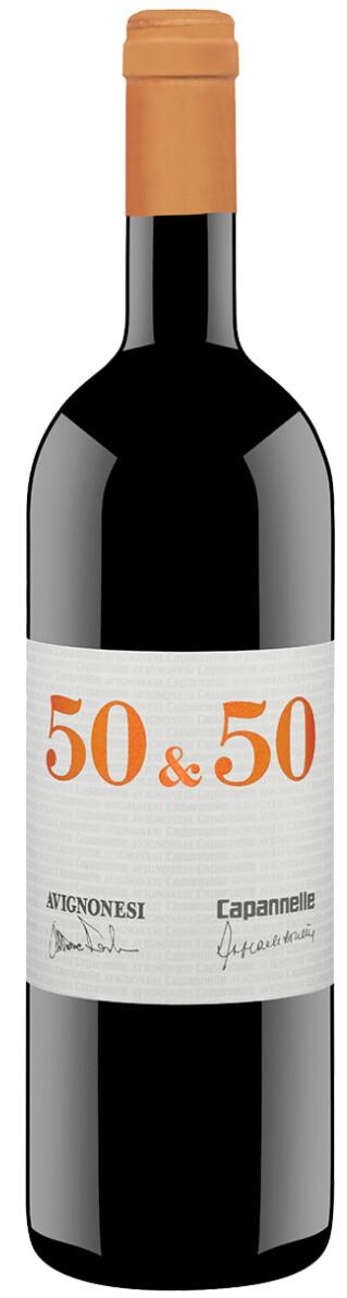 50 & 50 Merlot & Sangiovese Toscana IGT Magnum