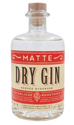 Matte Dry Gin