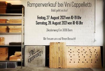 Samstag, 28. August 2021 von 10-16 Uhr am Zikadenweg 6 in 3006 Bern GROSSER RAMPENVERKAUF mit vielen spannenden Produkten